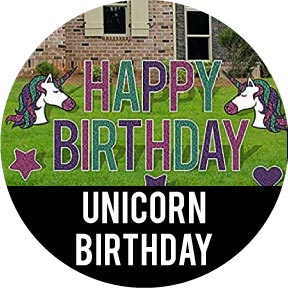 Unicorn Themed Birthday Party Decorations