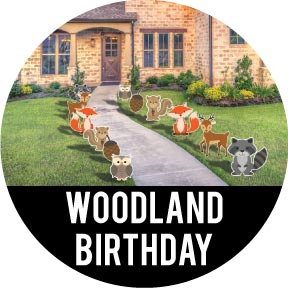 Woodland Creatures Birthday Party Theme