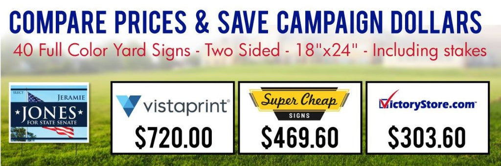 Yard Signs for Cheap