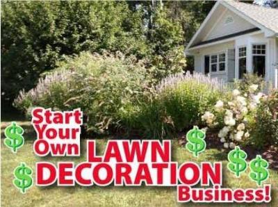 Lawn Decoration Rental Sets