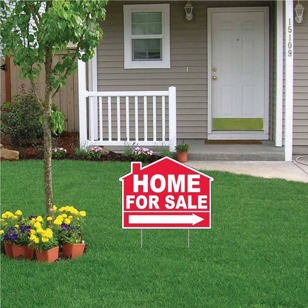 A yard sign for a realtor