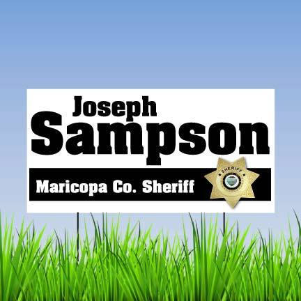 2'x4' Full Color Union Made Corrugated Plastic Yard Signs