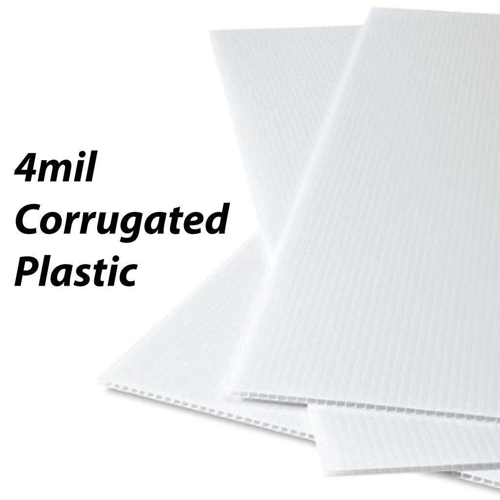 Martial Arts #4 4 mil Corrugated Plastic Sign Blank