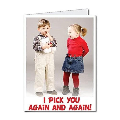3' Stock Design Giant Birthday Card - I Pick You Again and Again!