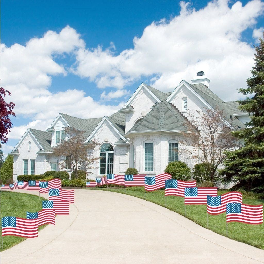 4th of July themed yard decorations