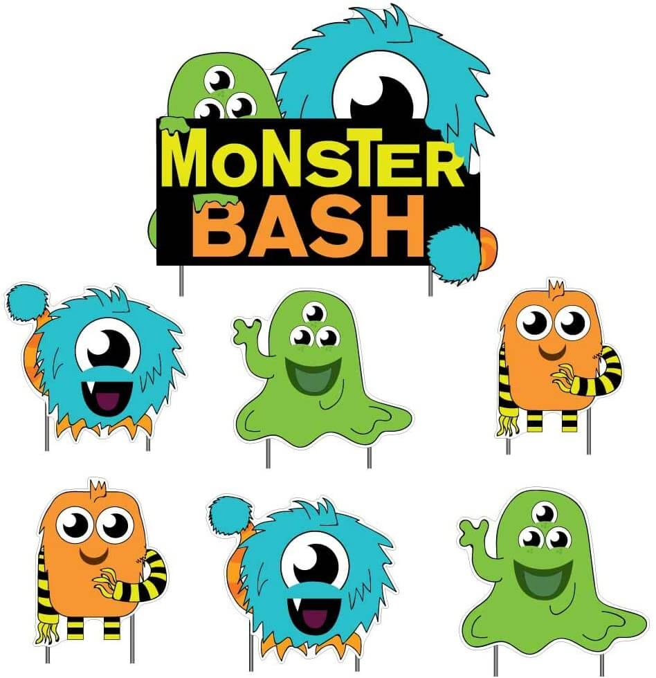 monster bash yard decoration