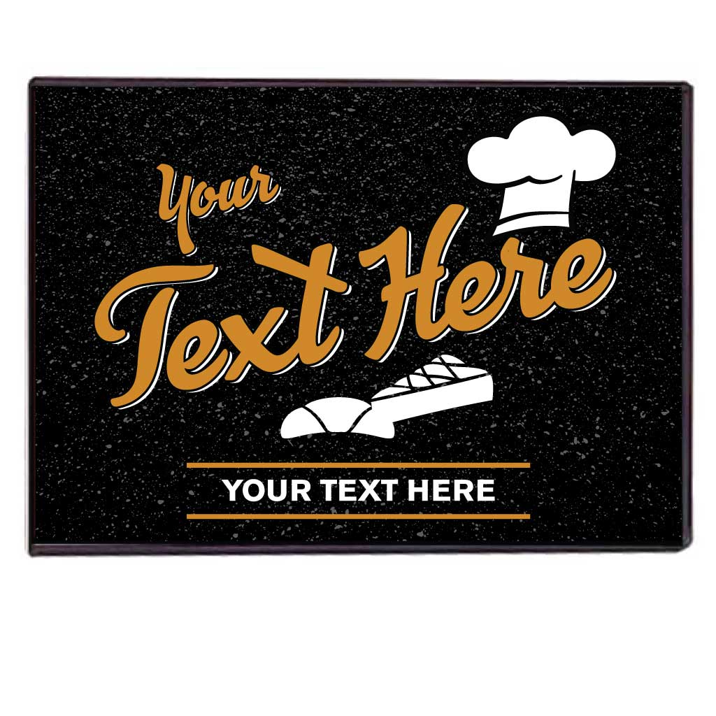 Custom Bakery Large Doormat FREE SHIPPING