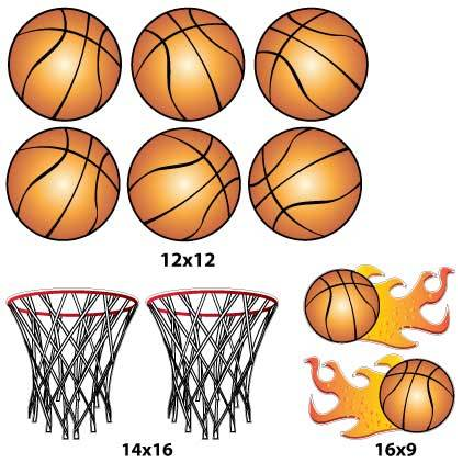 Basketball Yard Signs & Decorations - FREE SHIPPING