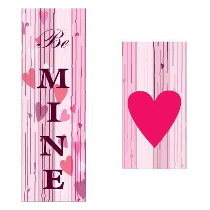 Be Mine Valentine Door Banner