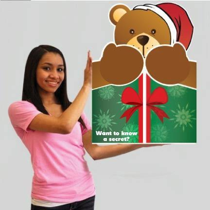Bear Hug Christmas Card