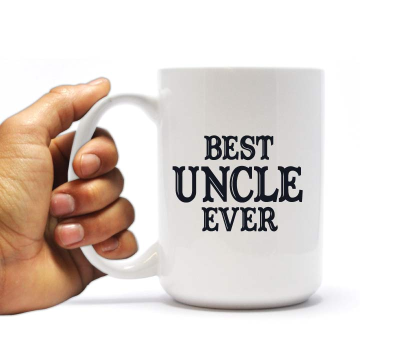 Best Uncle Ever Coffee Mug Birthday or Christmas Gift for your Uncle