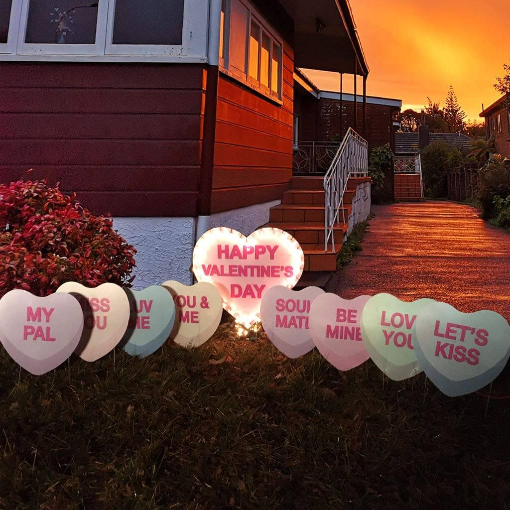 lighted candy hearts