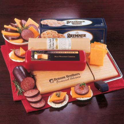 Cheese and Sausage Gift Set