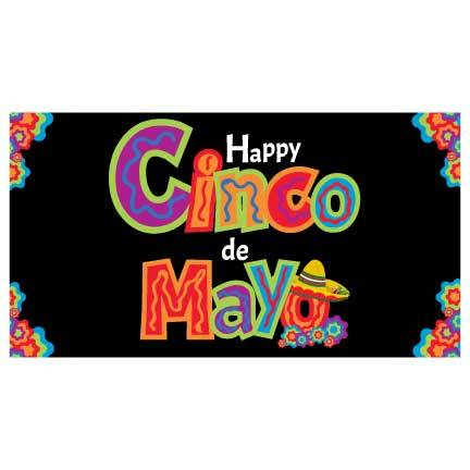 Cinco De Mayo Waterproof Vinyl Banner