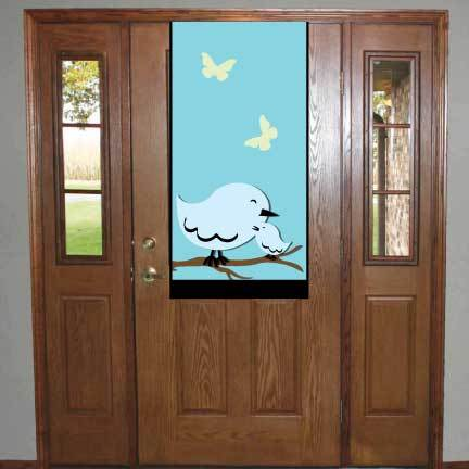 Congratulations On Your Baby Boy Door Banner