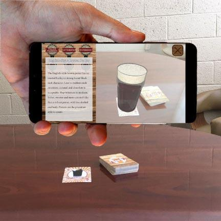 Augie Brew Augmented Reality Craft Beer Deck of Cards Game