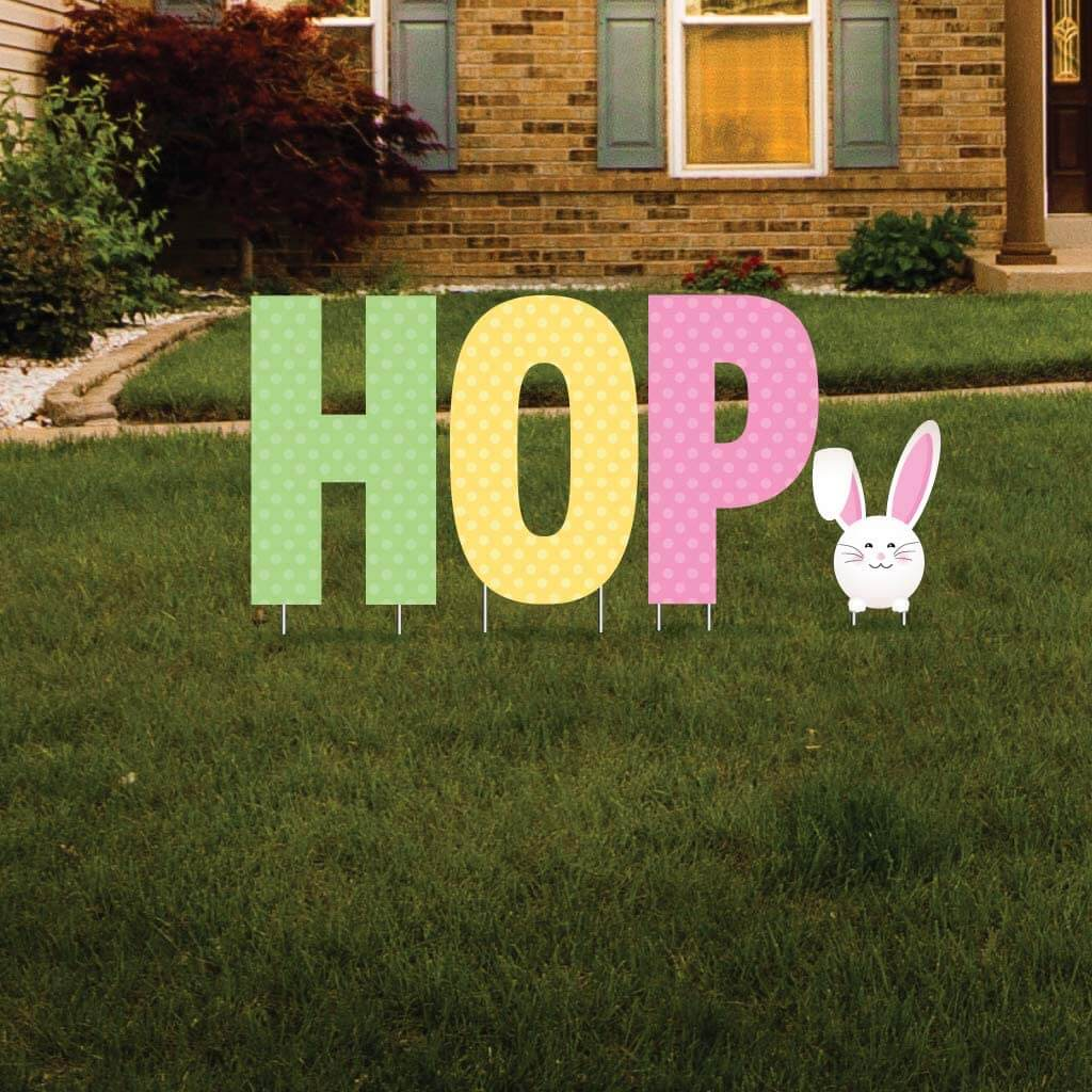 HOP Easter Decorations