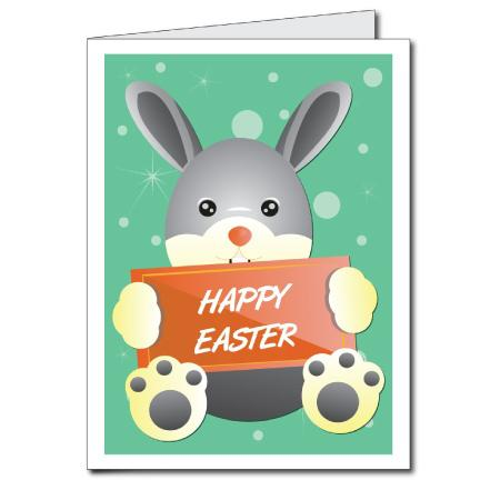 Happy Easter Giant Easter Greeting Card
