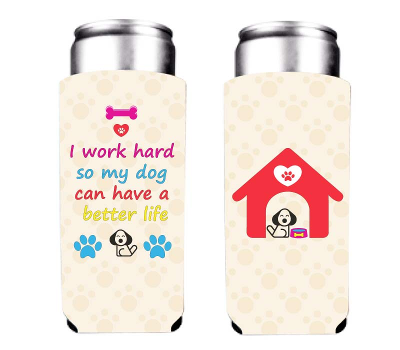 koozie for animal lovers