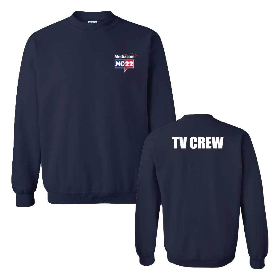 MC22 Navy 2-Sided Crewneck Sweatshirt