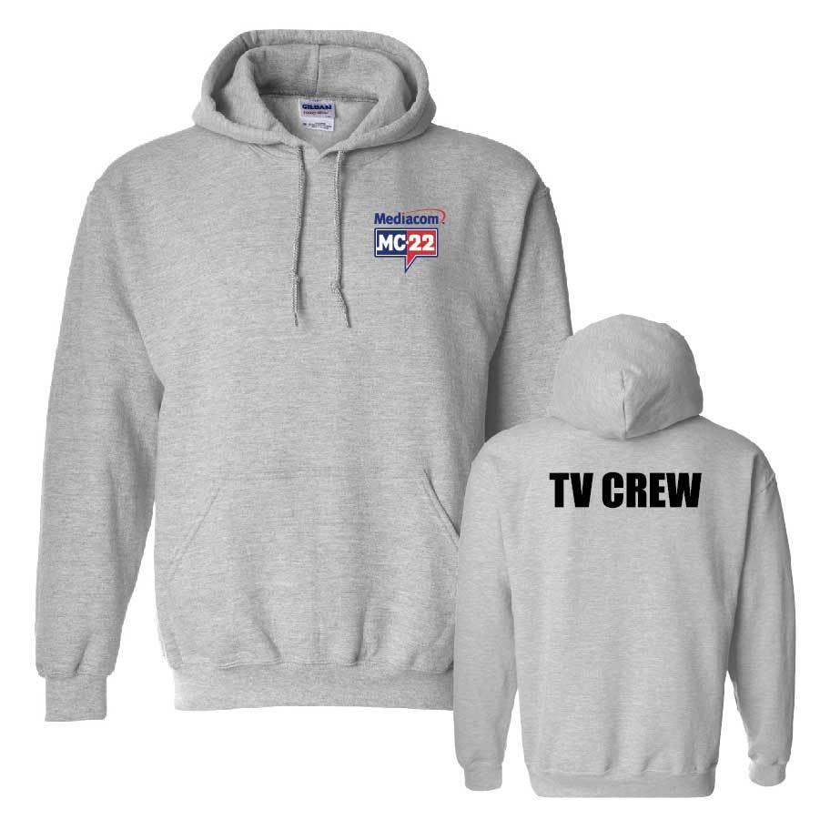 MC22 Sport Grey 2 Sided Hooded Sweatshirt