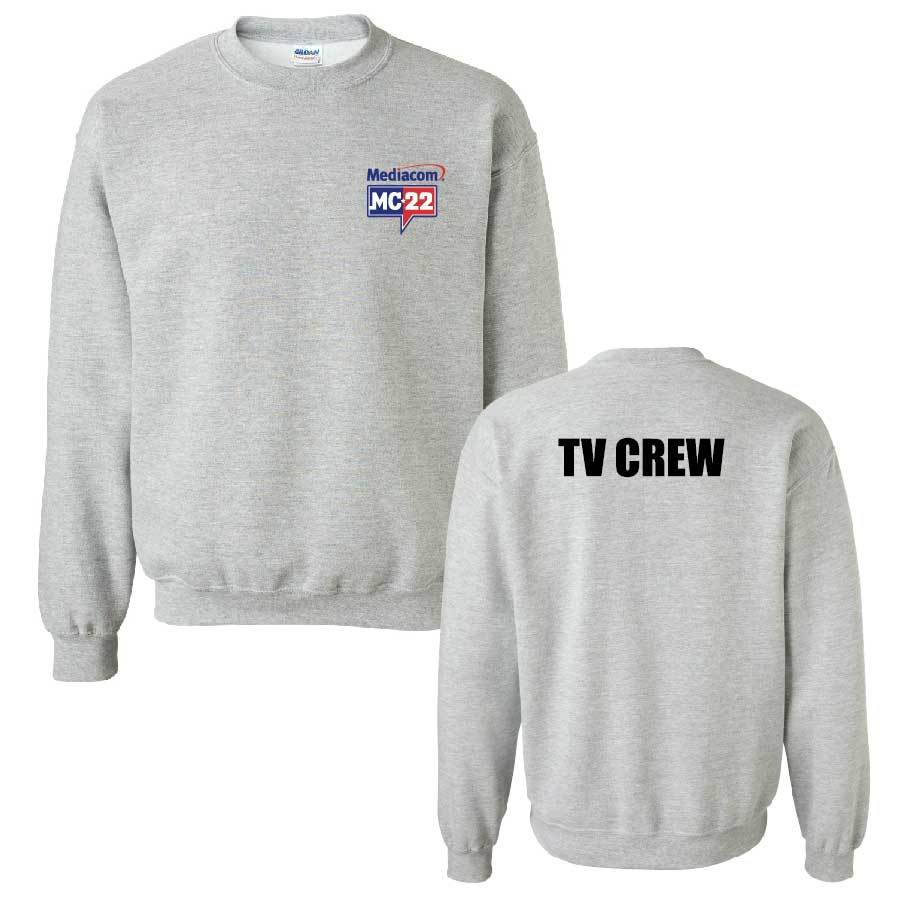 MC22 Sport Grey 2-Sided Crewneck Sweatshirt