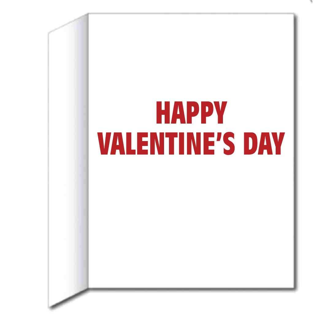3' Stock Design Make Valentines Great Again Valentine's Day Card - Huge Greeting Card