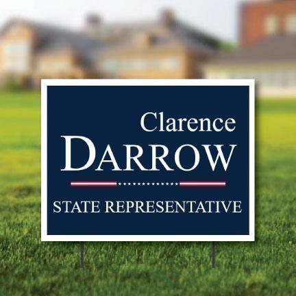 "Political Yard Signs - 18""x24"" - Design Your Own"