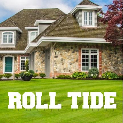 Roll Tide Yard Letters - FREE SHIPPING