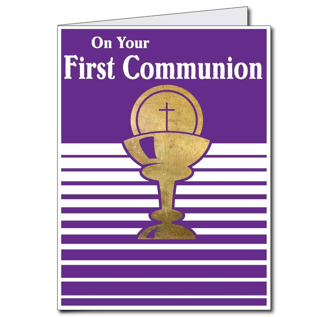 Giant Communion Card