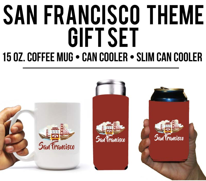 San Francisco Holiday Gift Set
