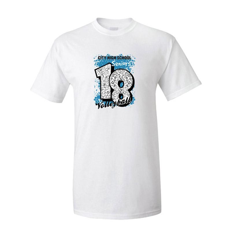 Senior Autograph T-shirt - FREE SHIPPING
