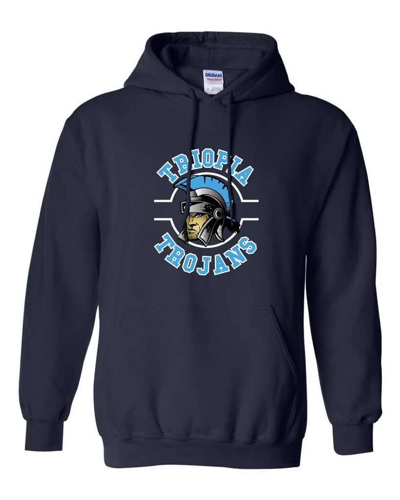 Triopia Trojans Hooded Sweatshirt