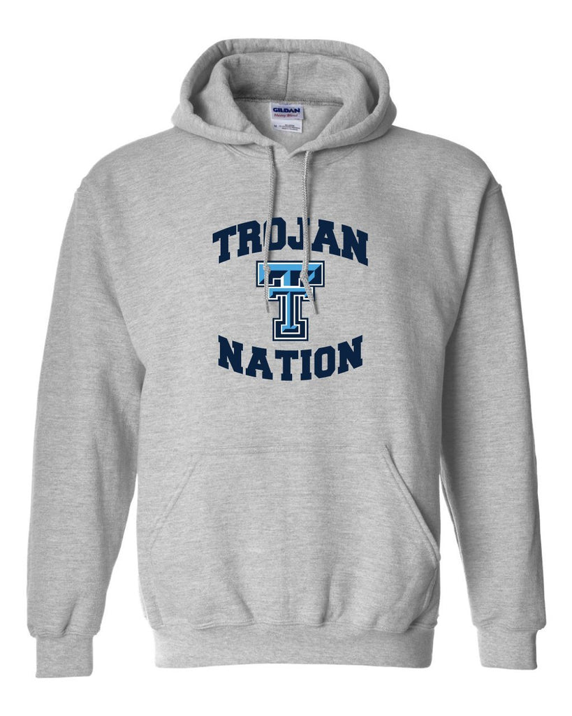 Triopia Trojans - Trojan Nation Hooded Sweatshirt