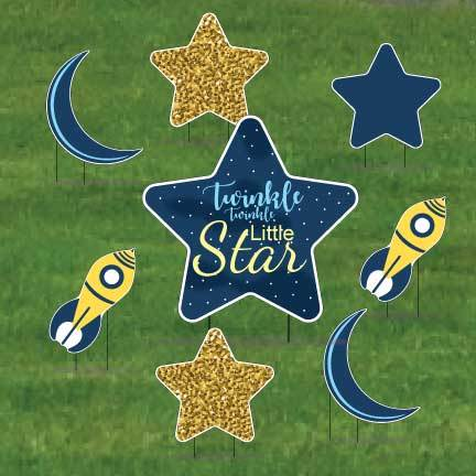 Twinkle Twinkle Little Star Pathway Decorations
