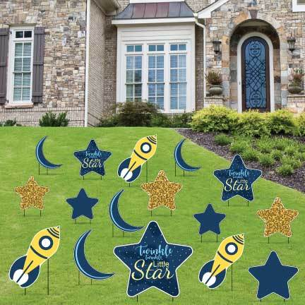 Twinkle Twinkle Little Star Yard Decorations