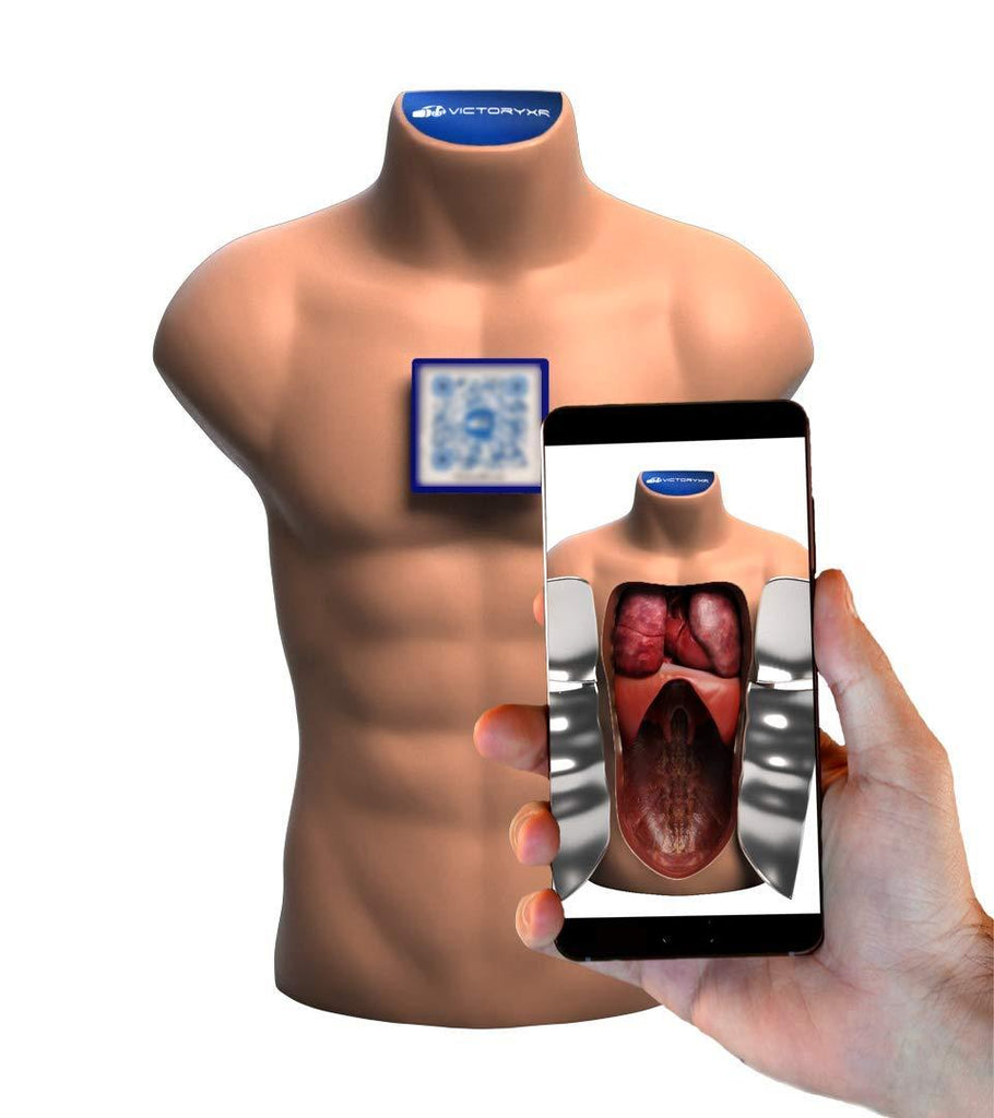 Victor the Augmented Reality Torso - AR Education