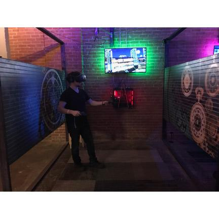 Virtual Reality Arcade Stall Wall Dividers