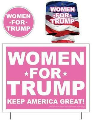 women for Trump gift pack