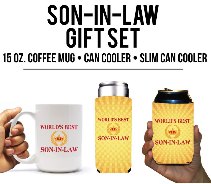 World's Best Son In Law Holiday Gift Set