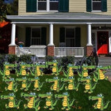 Gators Yard Decoration with stakes- Set of 18 - Free Shipping