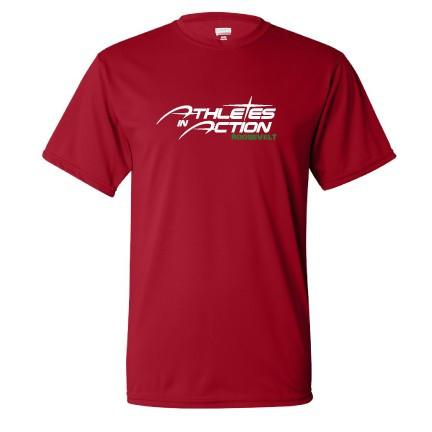 Athletes In Action Custom Dry Fit Shirt
