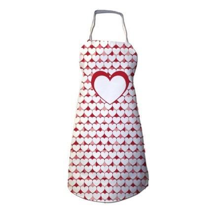 Heart Apron - Valentine's Day Apron, Love Apron, Mother's Day Apron