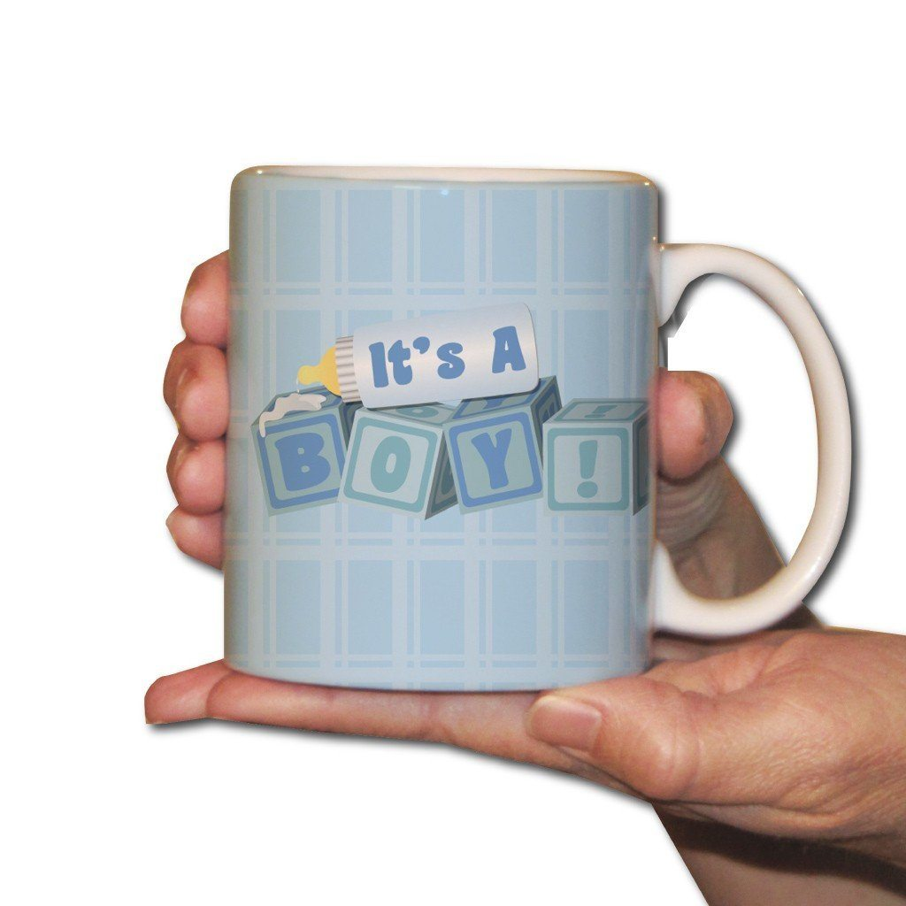 It's a Boy Baby Blocks - Coffee Mug