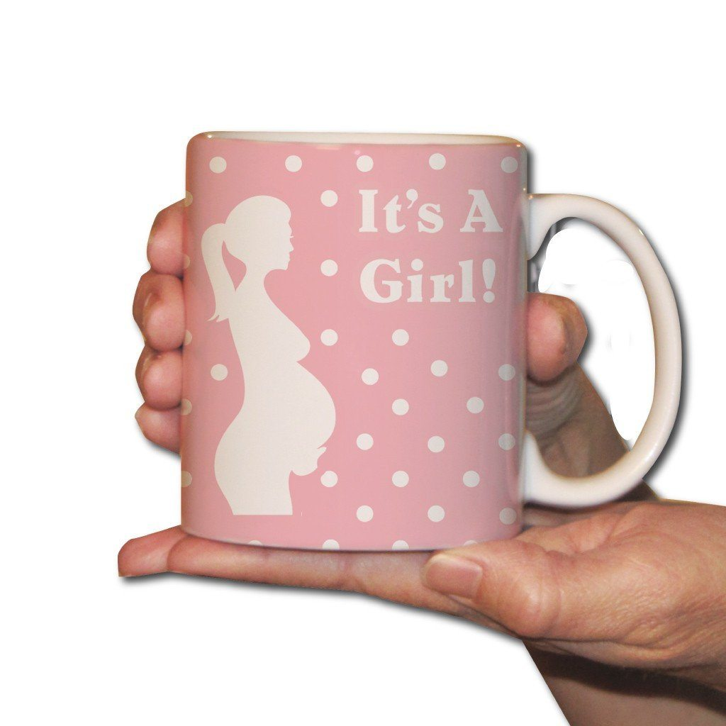 It's a Girl-Pregnant Mother - Coffee Mug