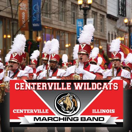 Marching Band Custom Banner