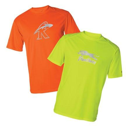 Custom Sport SafetyRunner Reflective Performance Shirt