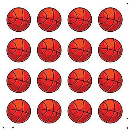 Basketball Party Decorations (indoor/outdoor) - 2 Sided Basketballs - FREE SHIPPING