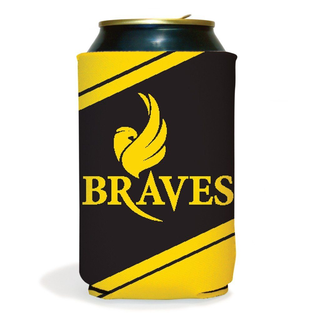 Set of 6 Black Hawk Braves Koozies