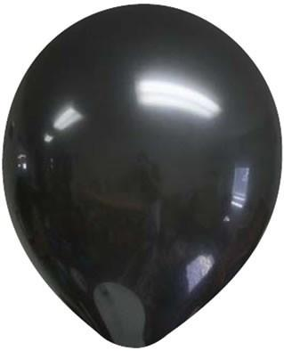 A black balloon